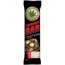 Батончик-мюслі з фундуком+насіння канабісу 40г