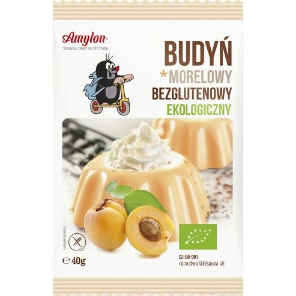 BIO Пудинг абрикосовий без глютену 40 г Amylon
