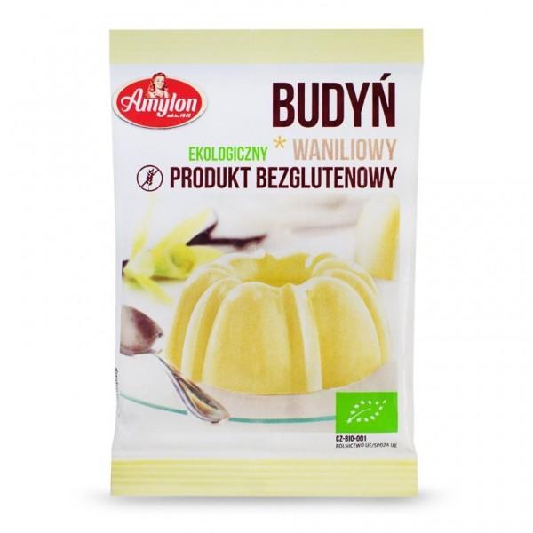 BIO Пудинг ванильный без глютена 40 г Amylon