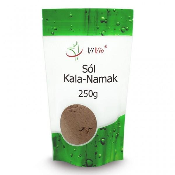 Чорна сіль Кала-Намак (мелена) Vivio