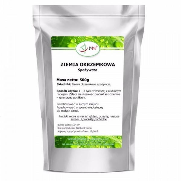 Діатоміт харчовий - Кизельгур 500 грам Vivio