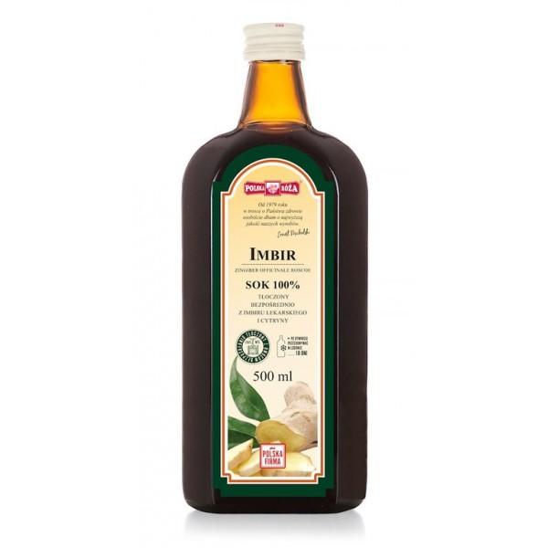 Імбирний сік з лимоном 100% NFC 500 мл POLSKA ROZA