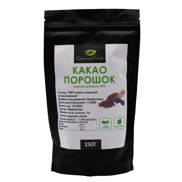 Какао порошок темний (Premium)