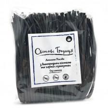 Локшина рисова з виноградної кісточки з чорним кунжутом 300 грам Світові традиції