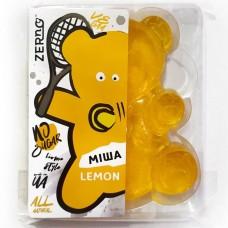Мармелад медовий Лимон, ведмедик Міхо без цукру, 100 г, Zerno