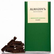 Молочний шоколад | 0% цукру 80 г Almazovъ