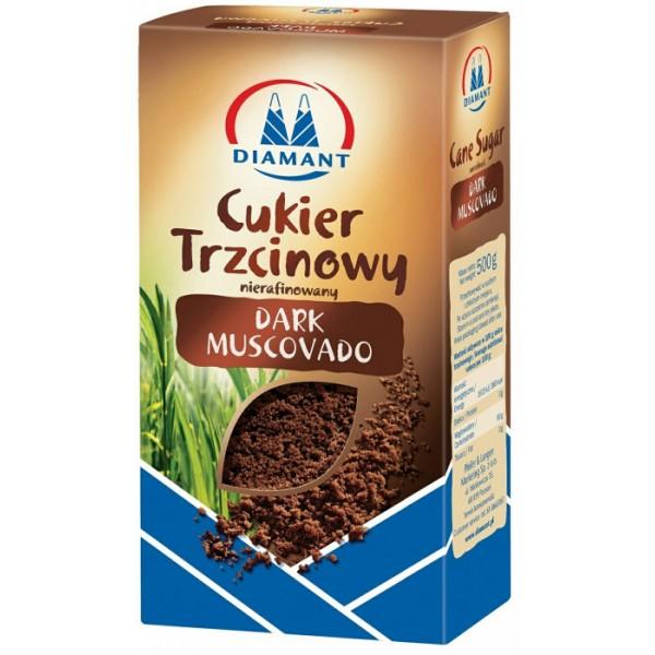 Темний тростинний цукор мусковадо 500 г