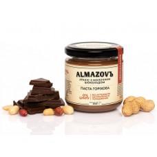 Паста горіхова арахіс з молочним шоколадом 200 г Almazovъ