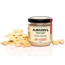 Паста горіхова кешью з білим шоколадом 200 г Almazovъ