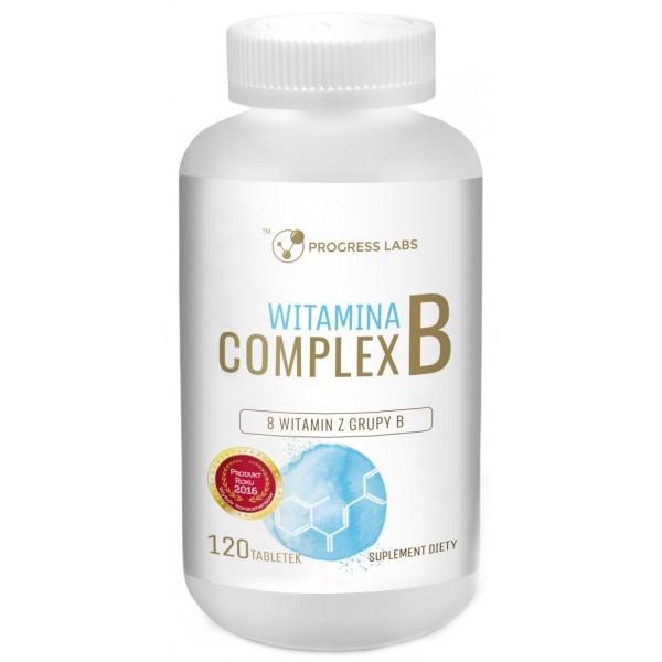 Вітамін B комплекс 120 табл. Progress Labs