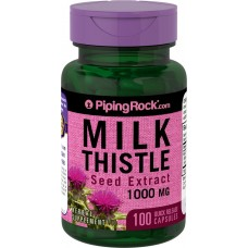 Екстракт розторопші 1000мг (Milk Thistle Seed Extract), Piping Rock - США