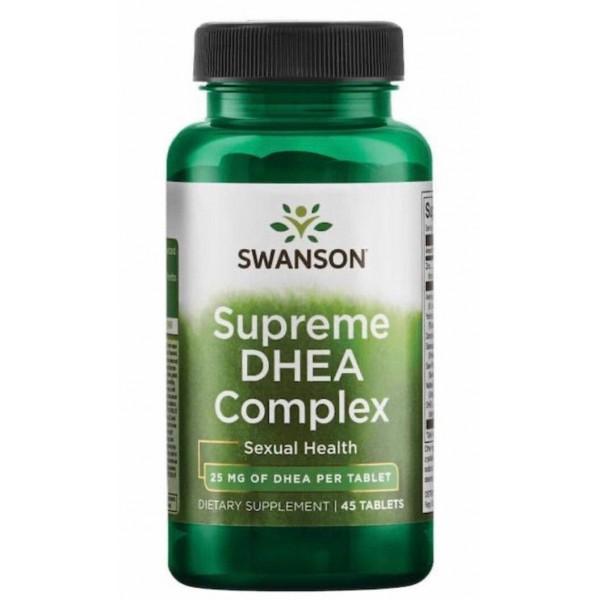 Засіб для чоловічої сили (Supreme DHEA for Intimacy), Swanson - США