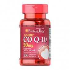 Коензим Q10 50 мг  (CO Q-10 Q-SORB), Puritan's Pride - США