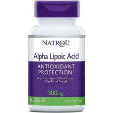 Альфа-ліпоєва кислота 300мг (Alpha Lipoic Acid), Natrol - США