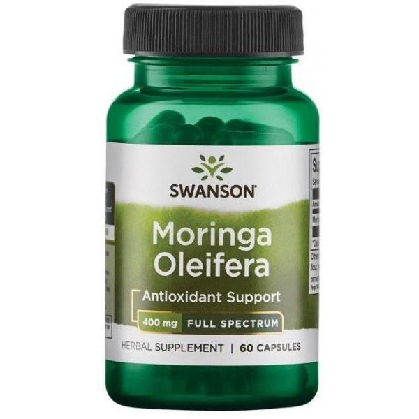 Антиоксидант Морінга Масляна 400 мг (Moringa Oleifera), Swanson - США