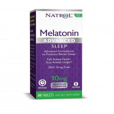 Мелатонін 10мг  (Advanced Sleep Melatonin), Natrol - США