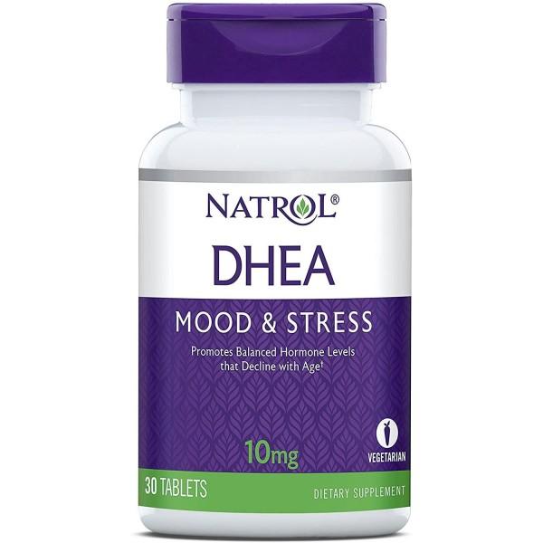 Антистресовий гормон ДГЕА 10мг (DHEA), Natrol - США