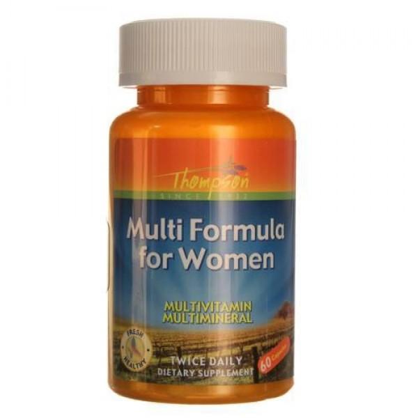 Мультивітаміни для жінок (Multi Formula for Women), Thompson - США
