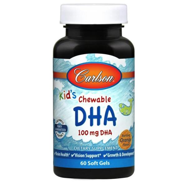 Омега-3 для дітей (Kids Chewable DHA), Carlson Labs - США