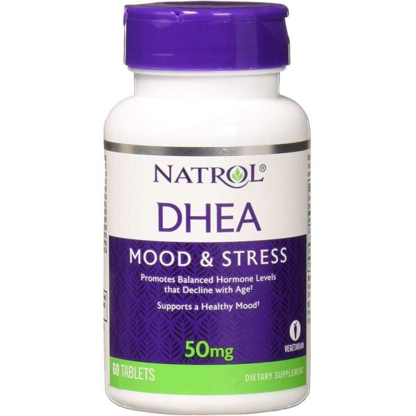 Антистресовий гормон ДГЕА 50мг (DHEA), Natrol - США