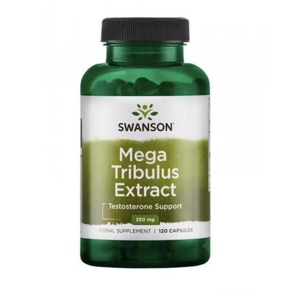 Трібулус 250мг (Mega Tribulus Extract), Swanson - США