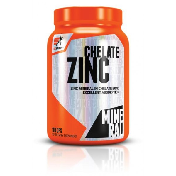 Цинк 10мг (Zinc Chelate) , Extrifit - Чехія