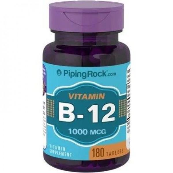 Вітамін B12 1000 мкг (В12), Piping Rock - США