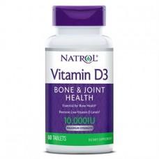 Вітамін D3 10 000 МО (Vitamin D3), Natrol - США