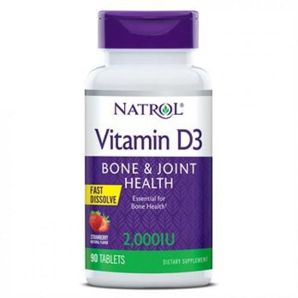 Вітамін D3 2 000 МО (Vitamin D3), Natrol - США
