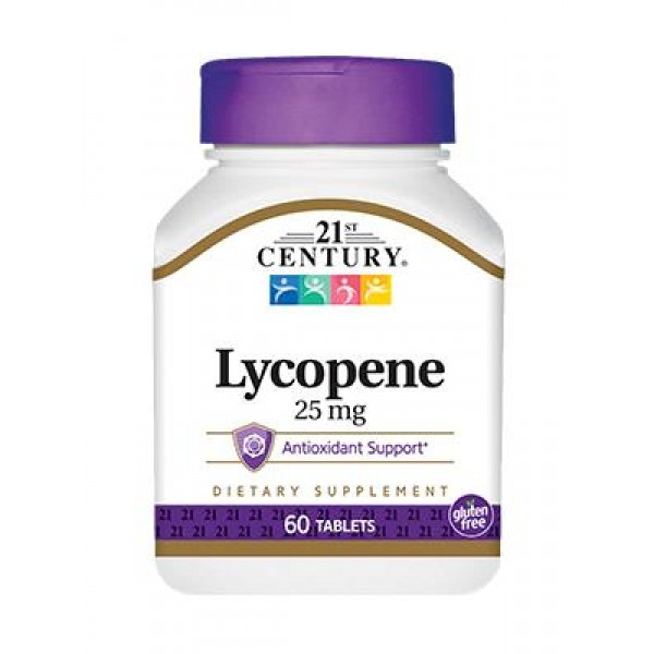 Лікопін (Lycopene), 21st Century, 25 мг, 60 таблеток