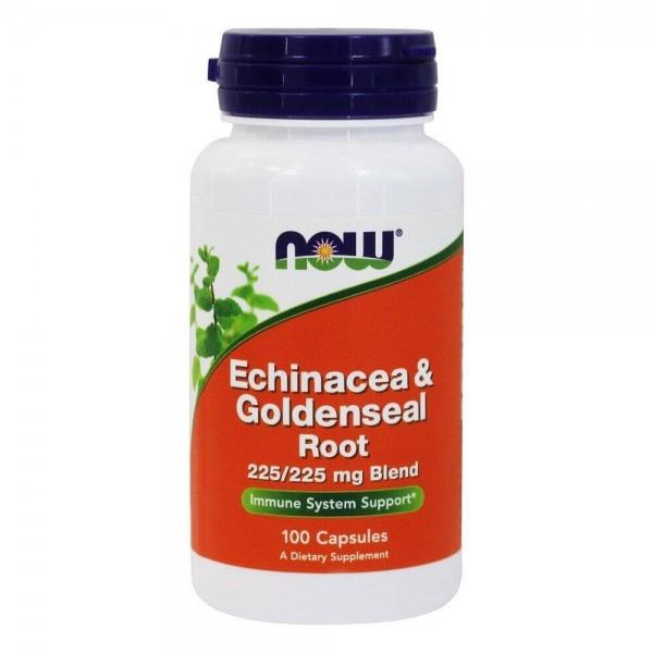 Ехінацея (Echinacea & Goldenseal), Now Foods, 100 капсул