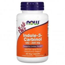 Індол 3 Карбінол, Indole-3-Carbinol, Now Foods, 200 мг, 60 капсул