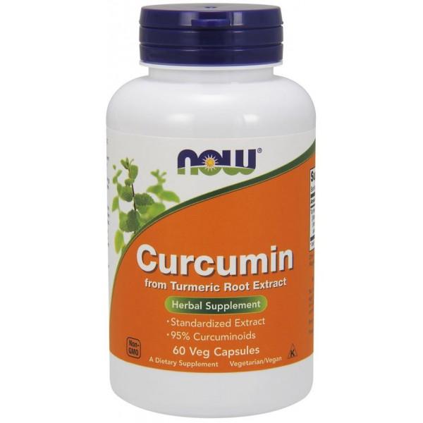 Куркумін (Curcumin), 665 мг, Now Foods, 60 капсул