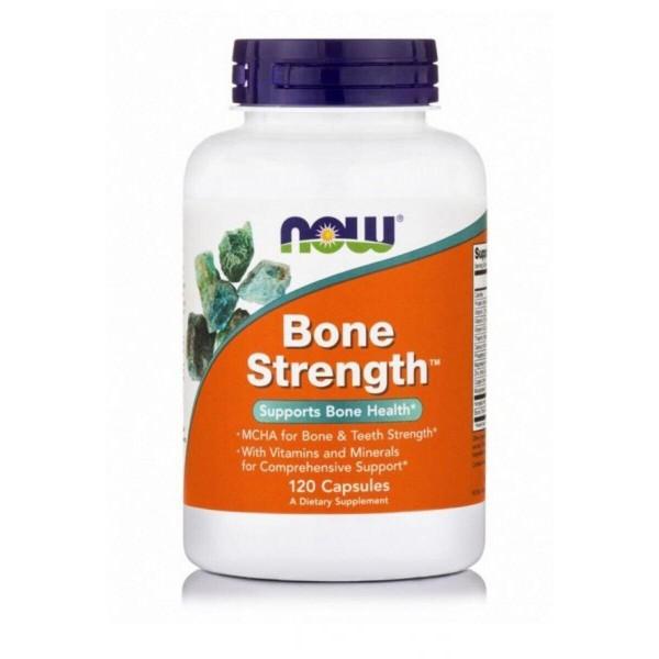 Міцні кістки, Bone Strength, Now Foods, 120 капсул