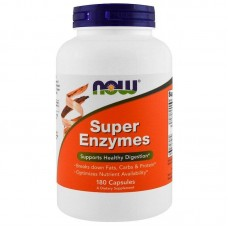 Травні ферменти, Super Enzymes, Now Foods, 180 капсул