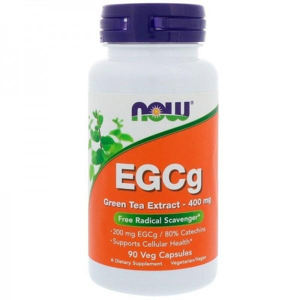 Зелений чай EGCg (Green Tea), екстракт, Now Foods, 400 мг, 90 капсул