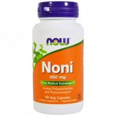 Ноні Гавайський, Noni, Now Foods, 450 мг, 90 капсул