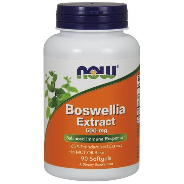 Босвелія (Boswellia), Now Foods, екстракт, 500 мг, 90 капсул