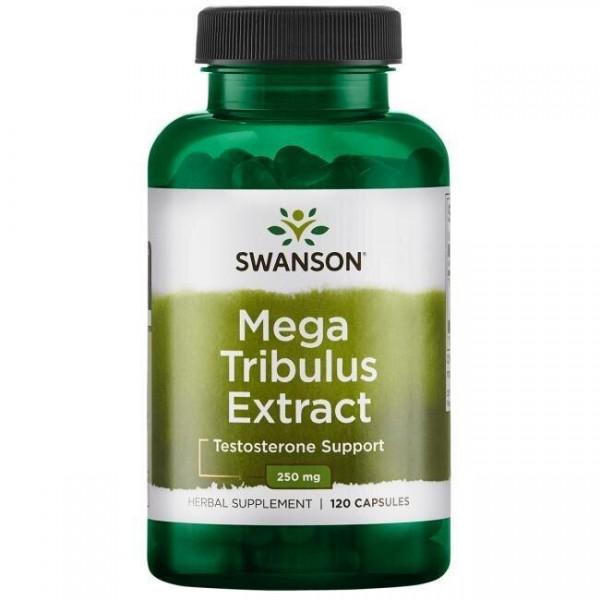 Трибулус, Mega Tribulus Extract, Swanson, 250 мг, 120 капсул