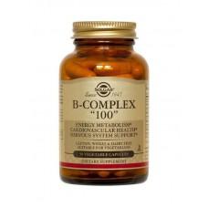 "В-комплекс, B-Complex ""100"", Solgar, 50 таблеток"