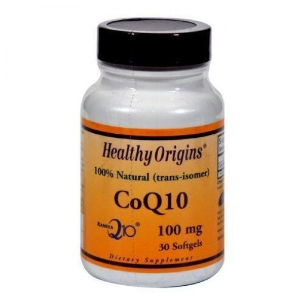 Коензим Q10, Kaneka Q10 (CoQ10), Нealthy Origins, 100 мг, 30 капсул