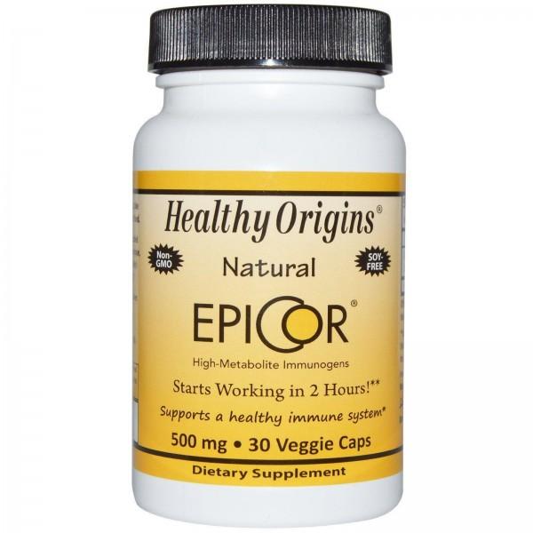 Эпикор, EpiCor, Healthy Origins, 500 мг, 30 капсул