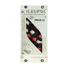 Шоколад чорний Leopol з кокосом та полуницею 95 г