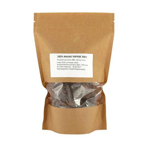 Какао терте Aromisto темне 250 г
