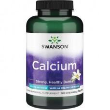 Premium Calcium 500 mg 100 Chwbls (Vanilla Cream) Swanson