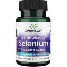 Ultra SelenoExcell Selenium 200 mcg 60 Caps Swanson