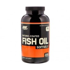 Enteric Coated Fish Oil 200 Softgels Optimum Nutrition