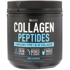 Collagen Peptides, Hydrolyzed Type I & III Collagen, Unflavored 110.7 g