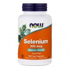 Selenium 200 mcg 180 tabs NOW
