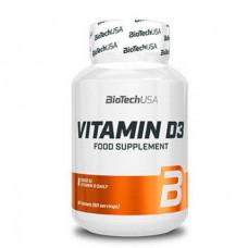 Vitamine D3 60 caps Biotech